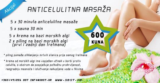 Anticelulitna masaža – AKCIJA