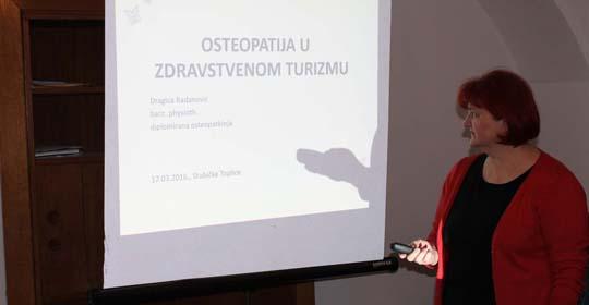 Predavanje – Osteopatija u medicinskom turizmu