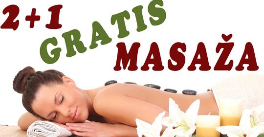 AKCIJA – 2+1 gratis masaža